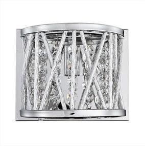 Luxera 46063 - Plafoniera de cristal STIXX 1xG9/33W/230V