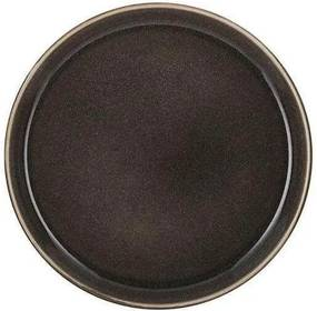 Farfurie din Ceramica Cenusie - Ceramica Cenusiu Diametru(21cm) x Inaltime(2cm)