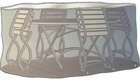 Husa de protectie pentru set mobilier gradina, oval, 230 x 70 cm