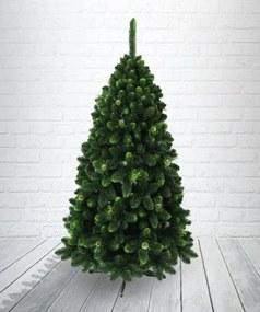 artificiale bradul de crăciun - pin de aur cu verde conuri de capăt și 150 cm