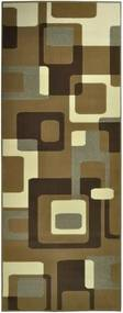 Covor Hanse Home Hamla Retro, 80 x 200 cm, maro