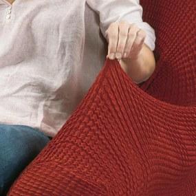 Huse care se întind foarte bine GLAMOUR cărămizie feţe de pernă 2 buc (40 x 40 cm)