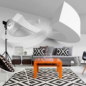 Fototapet - White Duet 300x210 cm