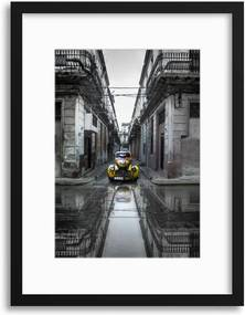 Imagine în cadru - Classic Old Car in Havana, Cuba by Svetlin Yosifov 40x30 cm