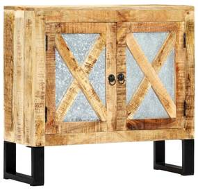 282755 vidaXL Servantă, 80 x 30 x 76 cm, lemn masiv de mango