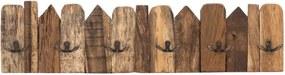 Cuier de perete din lemn WOOX LIVING Nordic, lungime 70 cm