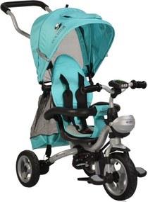 Tricicleta pentru copii Rooster Turquoise