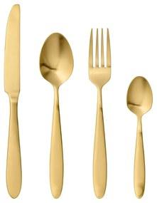 Set 4 tacâmuri Bloomingville Cutlery Eleganza, auriu