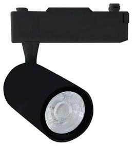 Spot LED pentru sistem pe șină TRACK LIGHT LED/12W/230V 3000K negru