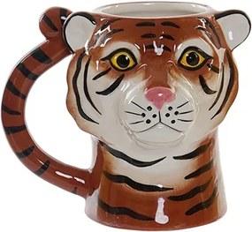 Cana Tiger din ceramica 13.5 cm