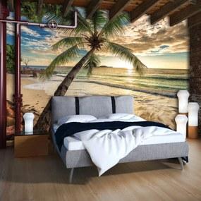 Fototapet - Plajă (254x184 cm), în 8 de alte dimensiuni noi