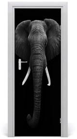 Autocolante pentru usi elefant african