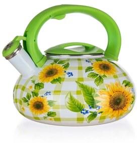 Ceainic cu fluier Banquet Sunflower, 3 l
