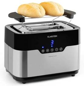 Klarstein Arabica, prăjitor de pâine, 920W, display cu LED, control tactil, oțel inoxidabil