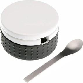 Set zaharniță cu lingură Versa, negru