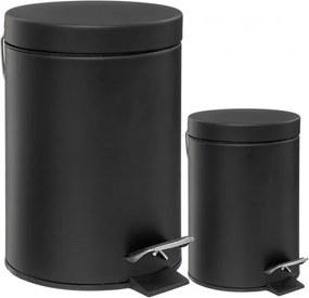 Set 2 cosuri de gunoi Black Way, 12+3 litri, 25x40 cm