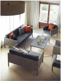 Canapea cu 2 locuri pentru grădină Geese Angella