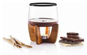 Set fondue pentru ciocolată XD Design, 1l