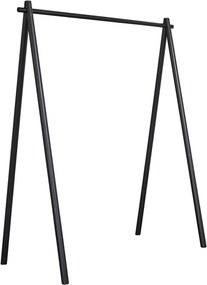 Cuier din lemn de pin Karup Design Hongi Black, negru