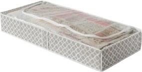Cutie depozitare textile Compactor, lungime 107 cm, bej