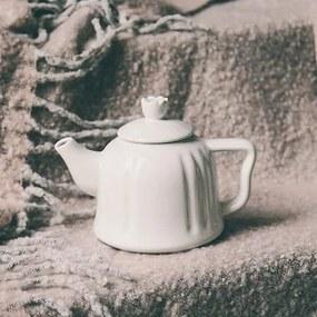 Ceainic Dream din ceramica alba 12 cm