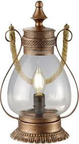 Trio LINDA 503500162 Veioze, Lampi de masă cupru antic