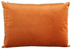 Set 4 perne din catifea Janne 60x40x16 cm portocalii
