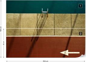 Fototapet GLIX - Follow Me (Before Taking A Swim) + adeziv GRATUIT Tapet nețesute - 254x184 cm