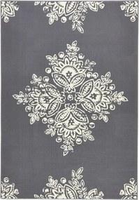 Covor Hanse Home Gloria Blossom, 120 x 170 cm, gri alb