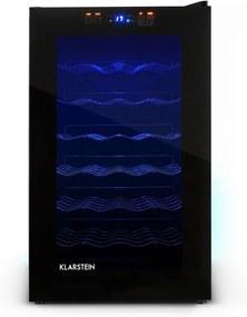 Frigider pt. Vin Klarstein 28 sticle, negru