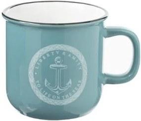 Cana Sailor XL, marine, ceramica, 9,7x9,5, 420 ml