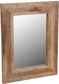 Oglinda cu rama din lemn Emako, 40 x 50 cm