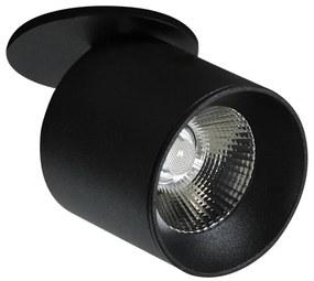 LED Spot încastrat HARON 1xLED/10W/230V negru
