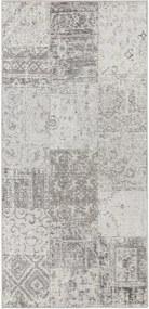 Traversă Elle Decor Pleasure Denain, 80 x 200 cm, gri - crem