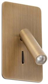 Spot LED de perete SUAU LED/3W/230V bronz FARO 62111