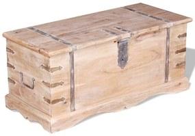 Cufăr din lemn de acacia