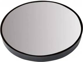 Oglinda neagra rotun Da din inox 55 cm Dott