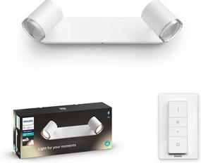 Philips - LED Lampă dimmabilă baie HUE ADORE 2xGU10/5W/230V IP44