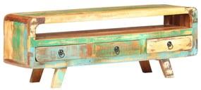 321043 vidaXL Comodă TV, 117 x 30 x 41 cm, lemn masiv reciclat