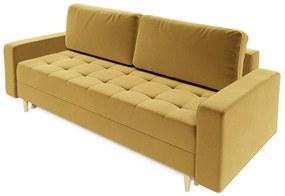 Expedo Canapea extensibilă tapițată BEFORE, 238x90x91, itaka 33