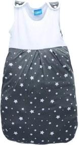Fillikid - Sac de dormit de vara 70 cm, Stars Grey