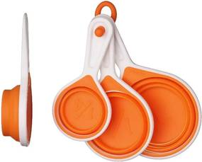 Set măsuri Zing Orange, 4 piese