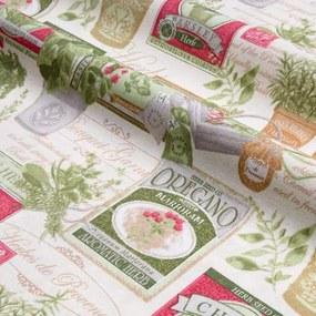 Faţă de masă patchwork Herb 140 x 180 cm