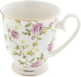 Cana ceramica Flowers Pink 11x8x9 cm