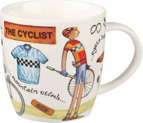 Cană din porțelan Churchill China At Your Leisure The Cyclist, 400 ml