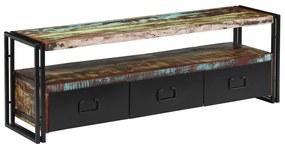 244844 vidaXL Comodă TV, 120 x 30 x 40 cm, lemn masiv reciclat