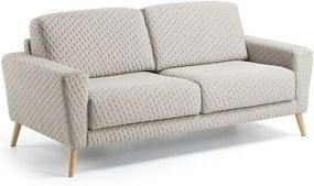 Canapea crem pentru 3 persoane Guy La Forma