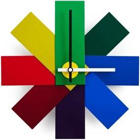 Ceas Watch Me Multicolor NORMANN COPENHAGEN - Aluminiu Multicolor Diametru (28.5cm)