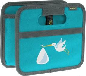 Cutie pliabila pentru depozitare mini Azuree Blue Stork