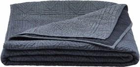 Cuvertura Albastra QUILT TRID - Bumbac Albastru L(250 cm) l(250 cm)